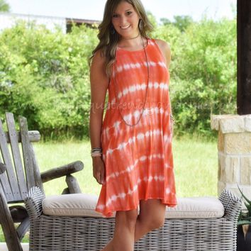 SUMMER CHIC TIE DYE DRESS- One Small Left!