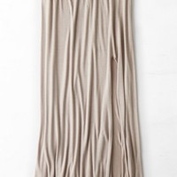 AEO Women's Don't Ask Why Side Slit Maxi (Brushed Earth)