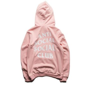 Summer Kawaii Anti Social Club Palace Anime Men Hoodie Hip Hop Streetwear Hoodie Jogging Men Pullover YEE ZUS Sport Women Hoodies