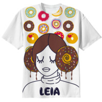 Princess Donut Leia T-Shirt