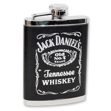 Jack Daniel's Leather 6 Oz. Flask