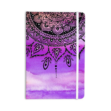 "Li Zamperini ""Lilac Mandala"" Lavender Purple Everything Notebook"