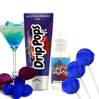 Blue Raspberry - Drip Pops E Liquid
