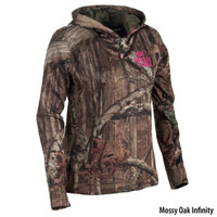 Mossy Oak Womens Quarter-Zip Pullover Hoodie - Gander Mountain