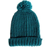 French Connection Triple Snowball Hat at asos.com