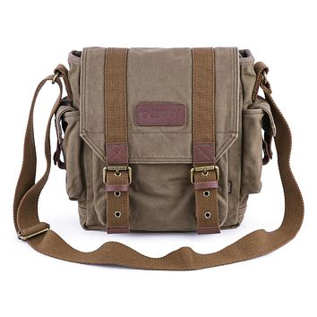Canvas Satchel Bag #21217