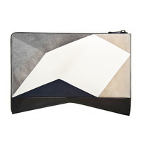 Narciso Rodriguez - Graphic Intarsia Clutch - ShopBAZAAR