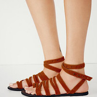 Free People Sunever Sandal - Brown