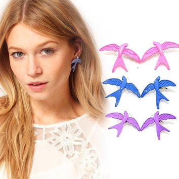 Double 12 Promote New Bird Earrings Europe and America Jewelry Multicolor Earrings Explosions Special offer Recommended