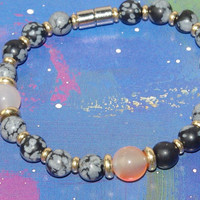 make your own bracelet with magnetic clasp KIT