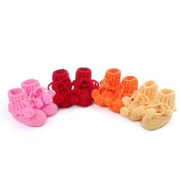 Shoes Handcrafts Baby Soft Socks [4919363396]