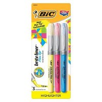 BIC® Brite Liner™ Highlighter Flex Tip 3ct - Multicolor