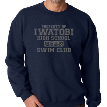 Iwatobi Swim Club ( Free! ) Crew Neck Sweatshirt