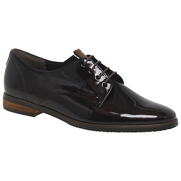 Buy Gabor Gondola Wide Fit Patent Oxford Shoes | John Lewis