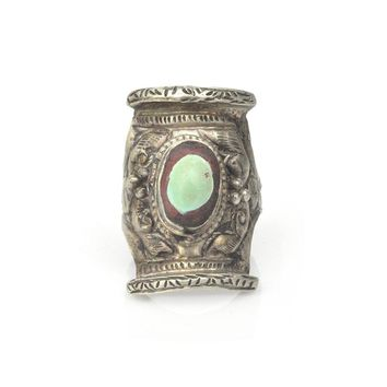 Tibetan Saddle Ring
