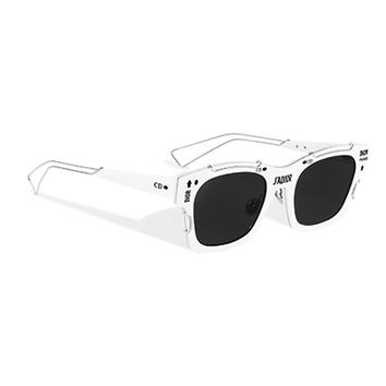 """j'adior"" sunglasses, white and silver-tone - Dior"