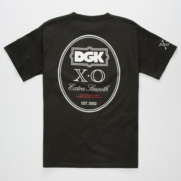 Dgk Xo Mens T-Shirt Black  In Sizes