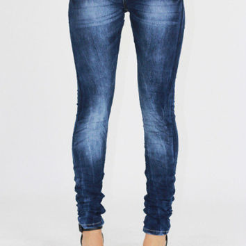 Bleached Jegging Jeans