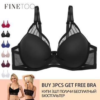 Hot Women Bra Push Up Bra For Women Sexy Cover B C Cup Bras 2019 Solid Seamless Bralette Top Lingerie Ultrathin Female Underwear