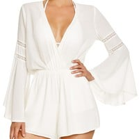 L*SpaceLovestruck Romper Swim Cover Up
