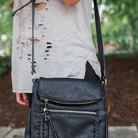 Make A Move Crossbody - Black