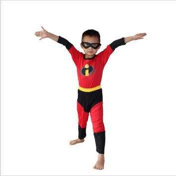 Boy The Incredibles Robin Deadpool Ben Batman Spiderman The Flash Costume Halloween Costume For Kids Cosplay Clothing Set