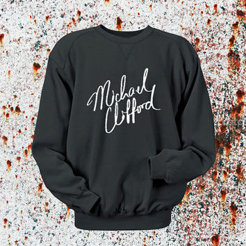 Michael Clifford Sweater Black, Blue, Gray, Orange, Red, and Yellow Sweatshirt Crewneck Men or Women Unisex Size