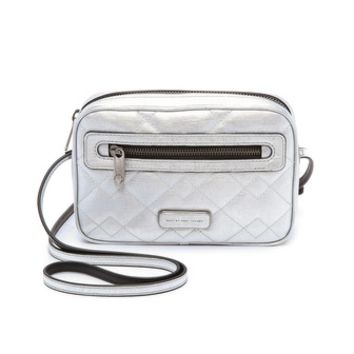 Marc by Marc Jacobs Quilted Metallic Sally Bag