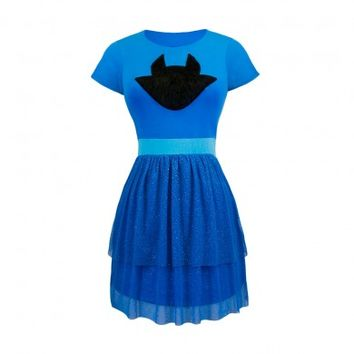 Jade Harley Fit and Flare Tulle Dress