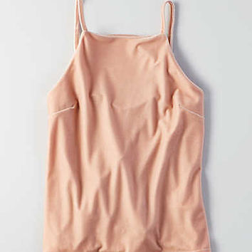 Don't Ask Why Sleeveless Velvet Top, Just Rosey