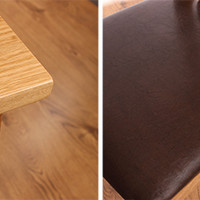 Buy Oxford Oak: Dining Table & Chairs Set at Home Bargains