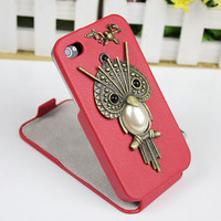 Owl Case cover for iPhone 4gs/4s by fashioncase