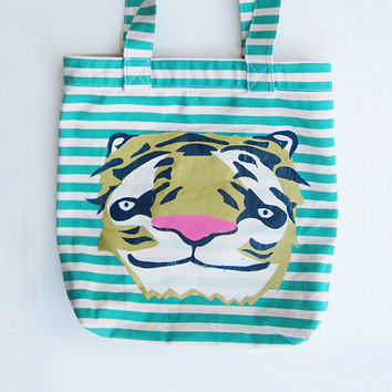 Tiger Tote - Limited Edition of 5 - Ships July 6th