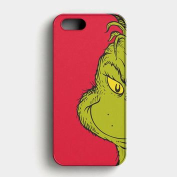 You Re A Mean One Mr Grinch iPhone SE Case