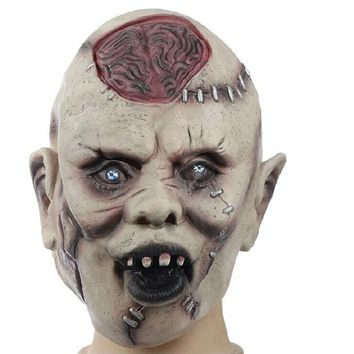 halloween costumes Halloween adult scary mask latex horror mask mascara latex party decoration supplies HYM