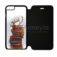 Harry Potter Glasses Red Glitter iPhone 6/6S Flip Case | armeyla.com