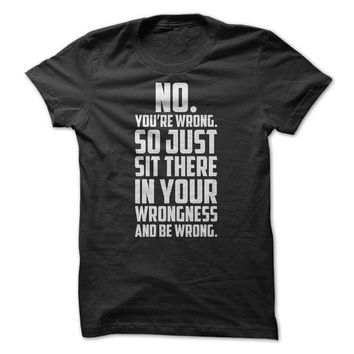 No You're Wrong - On Sale