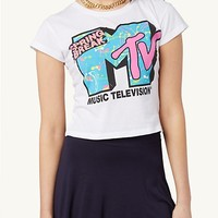 MTV Spring Break Crop Tee