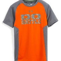 Boy's Under Armour 'Armour Up' Fitted HeatGear Athletic T-Shirt,