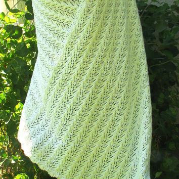 white poncho, Summer poncho, Knitted  delicate shawl fashionable stylish scarf from natural cotton Bambo