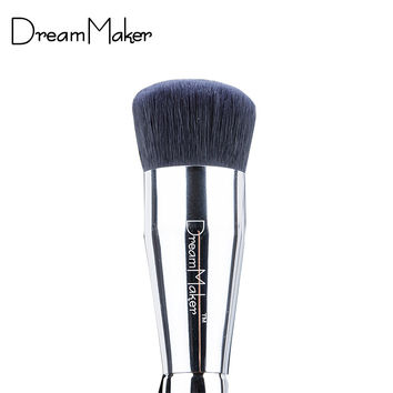 Makeup Brushes Professional Flat foundation brush Easy For Beauty Make up w/ case brochas maquillaje