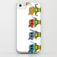 TMNT Chibis iPhone & iPod Case by Katie Simpson