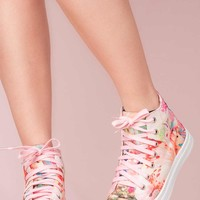 JEFFREY CAMPBELL - JEFFREY STAR SNEAKERS