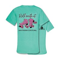 Southern Couture Preppy Roll With It Comfort Colors T-Shirt