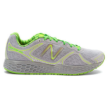 New Balance M980 Fresh Foam - Limited Edition Glow | Men's - Grey/Green - Glow-In-The-Dark Animal Print - FREE SHIPPING at OnlineShoes.com