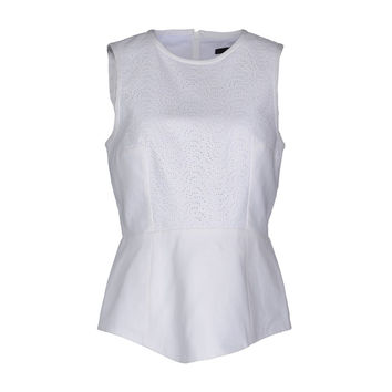 Tibi White Top
