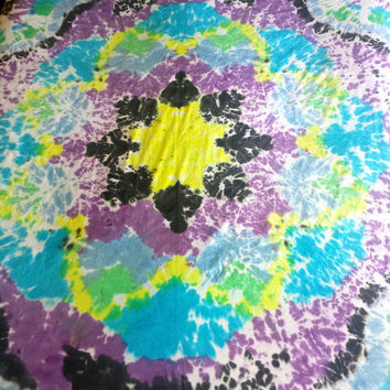 Tie Dye Mandala Duvet Cover (Full/Queen Size)