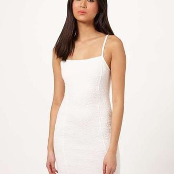 Cream 90's Bodycon Dress - Spring Essentials - Sale & Offers