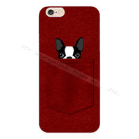 Pocket Pug Puppy Silicone Phone Case For Apple iPhone 5 5S