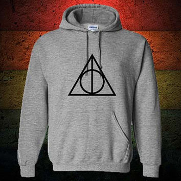 Deathly Hallows Hoodie Sweatshirt Sweater